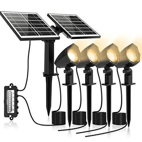 MEIHUA Solar Strahler 4 Stück Solar...