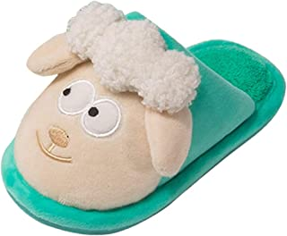 Cute Home Shoes, Girls Boys Indoor House Slipper Cartoon Warm Winter Toddler Non-Slip Slippers