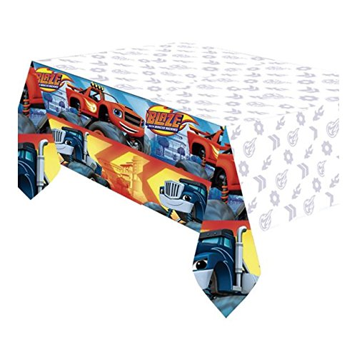 Blaze und die Monster Machines–Tischdecke aus Kunststoff (Amscan 9901356)