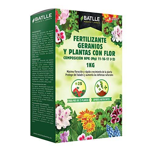Abonos - Fertilizante geranios y plantas con flor Caja 1 kg. -...