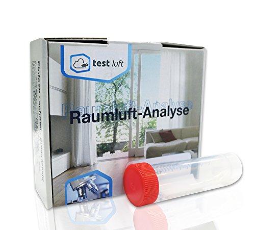 Asbesttest für eine Material- oder Staubprobe – Set, inkl. Laboranalyse