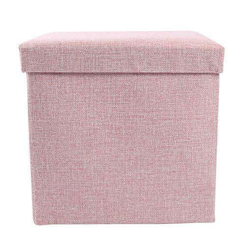 XINTU 1 taburete cambiador de tela de cartón, caja de almacenamiento, plegable, taburete de almacenamiento, bolsa de almacenamiento
