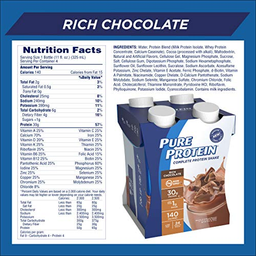 Pure Protein Complete Protein Shake