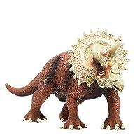 トリケラトプス モデル 恐竜 フィギュア 大迫力 リアル 両足自立 おもちゃ (19cm)