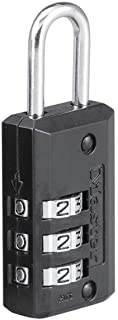 Master Lock 646EURD Combination Lock 20 mm Black