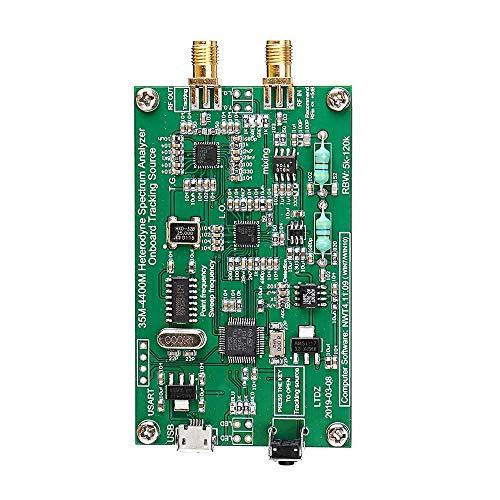 Landa tianrui Spectrum Analyzer USB LTDZ_35-4400M_Spectrum Signalquelle mit Tracking-Source-Modul RF Frequency Domain Analysis Tool