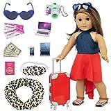 ZITA ELEMENT Doll Travel Suitcas...
