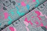 Swafing GmbH Disney Jersey Minnie Mouse grau pink - Stoff -