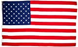 Valley Forge FBA_58311000II American Flag 5ft x 8ft Koralex II 2-Ply Sewn Polyester, 5'x8', Red, White, Blue