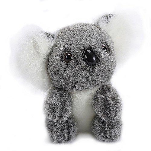 Lazada Gris Koala Felpa de Peluche Koala Juguetes de Bebe Muñecas 5'' …