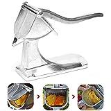 DQWKDJIBI Aluminium Hand Handsaftpresse Fruchtpresse Hochleistungs-Orangen-Zitronen-Granatapfel-Saft-Extraktor Handpresspresse