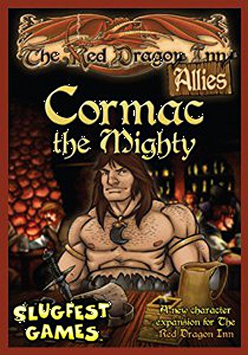 Slugfest Games Red Dragon Inn: Allies - Cormac The Mighty (Red Dragon Inn Expansion) Board Game (SFG016)