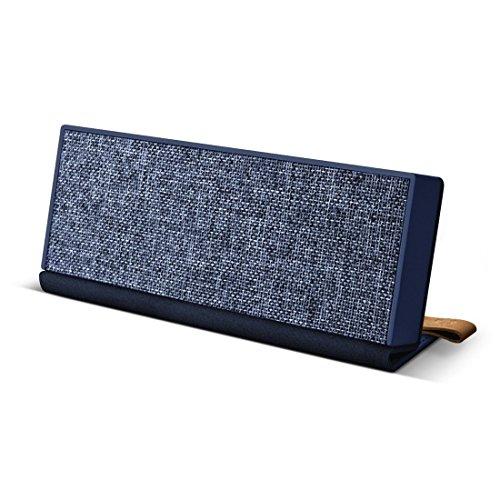 Fresh ´n Rebel -Rockbox Fold Fabriq Edition- tragbarer, kabelloser Lautsprecher mit Bluetooth 4.0, inklusive Micro-USB-Ladekabel, Farbe Indigo