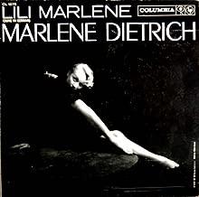 Lili Marlene Sung in German Marlene Dietrich Columbia CL1275 Original Pressing