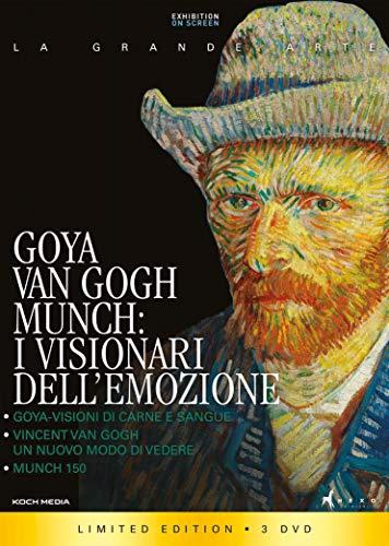 Goya, Van Gogh, Munch - i Visionari dell'Emozione (Collectors Edition) (3 DVD)