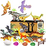 Harxin 26 Pcs Juguete Dinosaurio, Juguete Dinosaurio Educativo Dinosaurio Edificio Jurásico Mundo Juguetes Infantiles (Dinosaurios Juguetes)