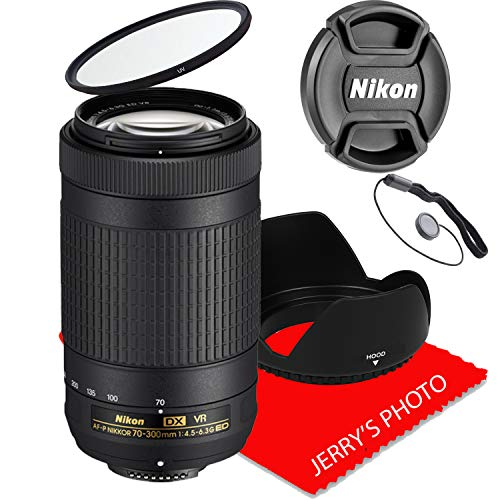 Nikon AF-P DX NIKKOR 70-300mm f/4.5-6.3G ED VR Lens (White Box)