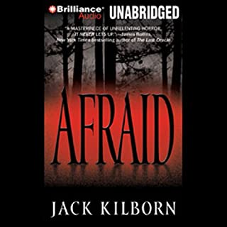 Afraid audiobook cover art