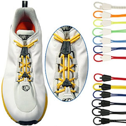 Yankz Schnürsystem automatischer Schnürsenkel 2 Paar , FARBEN:schwarz