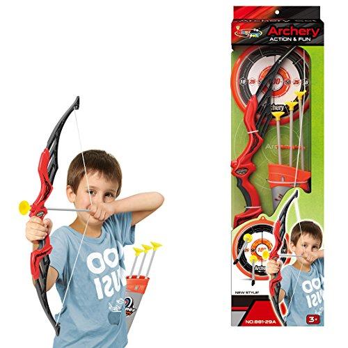 12che Outdoor Jugend Recurve Bogen und Pfeil Set Schießen Spielzeug Schießspiele Set für Kinder Spiel Geschenk