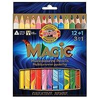 コヒノール 色鉛筆 マジックペンシル 12色セット KH3408-13