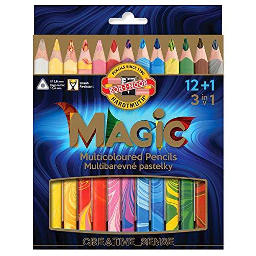Koh-I-Noor Magic Jumbo-Dreikant-Farbstift (13Stück)