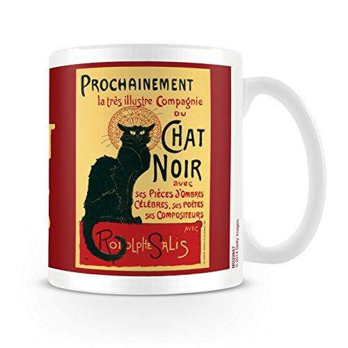 Chat Noir Taza de cerámica