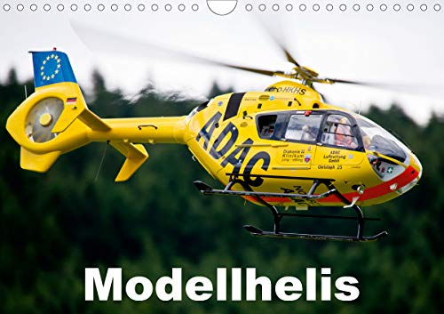Modellhelis (Wandkalender 2021 DIN A4 quer)