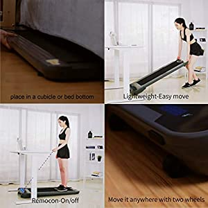 JEMPET Under Desk Walking Treadmill,Smart Slim Fitness,Home/Office