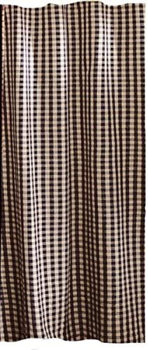 Bombing free shipping Home Collection by Spasm price Raghu Heritage Check 72 House Curtain Shower