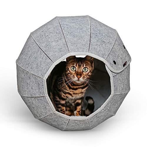 CanadianCat Company ®   Katzenhöhle in Kugelform - Ø ca. 46 cm