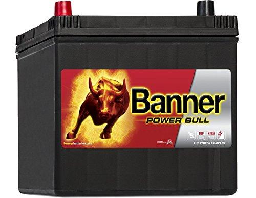 Banner Powerbull Starterbatterie 12V, 60Ah, 510 A (EN), P6069