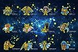 WLH- Rompecabezas de Madera Pedazos De 300/500/1000 de descompresión for Adultos niños Juguetes educativos Animado Oro Saint Seiya (Color : D, Size : 300pc)