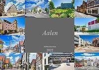 Aalen Impressionen (Wandkalender 2022 DIN A2 quer): Zu Besuch am noerdlichen Rand der schwaebischen Alb (Monatskalender, 14 Seiten )