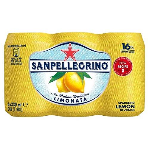 San Pellegrino Zitrone Limonata 6 X 330Ml