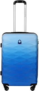 United Colors of Benetton Ombre Polycarbonate 60 cms Blue Hardsided Check-in Luggage (0IP6MP24HL04I)