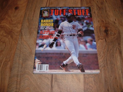 Tuff Stuff: October 1993-Barry Bonds, San Francisco Giants.