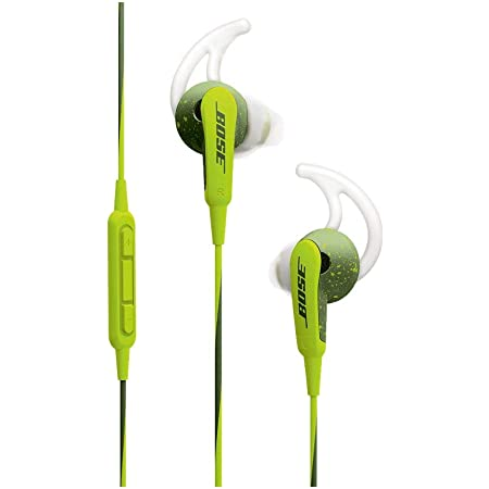 Bose SoundSport In-Ear Headphones, 3.5mm Connector for Apple Devices - Energy Green