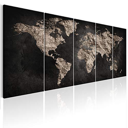 68 cm x 43 cm Scratch Off Weltkarte zum Freikratzen Englisch envami Weltkarte zum Rubbeln Freirubbeln Rubbelweltkarte Landkarte Map