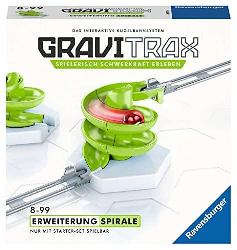 GraviTrax 26811 Ravensburger GraviTrax Erweiterung Spirale - Ideales Zubehör für spektakuläre Kugelbahnen, Konstruktionsspielzeug für Kinder ab 8 Jahren