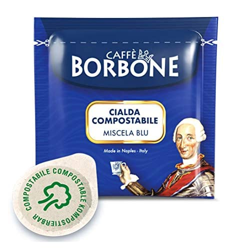 Caffè Borbone Cialda Compostabile Miscela Blu, 150 x 7.2g