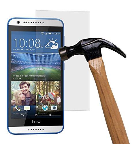 yayago Bildschirmschutzglas 0,26 MM Bildschirmschutzfolie für HTC Desire 620 / Desire 620G Glasfolie Hartglas 9H (bewusst Kleiner als das Bildschirm, da Dieses gewölbt ist)