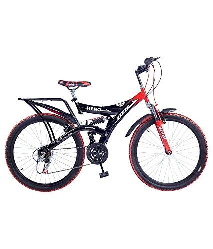 Hero RangerDTB 26T 6 Speed Mountain Bike (Red Black, Ideal For : 12+...