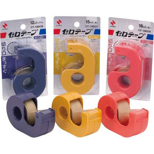 ニチバン『セロテープ小巻カッター付(CT-12DCB)』