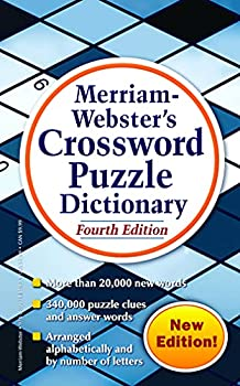 Merriam-Webster s Crossword Puzzle Dictionary 4th Ed  Mass-Market Paperback  Newest Edition