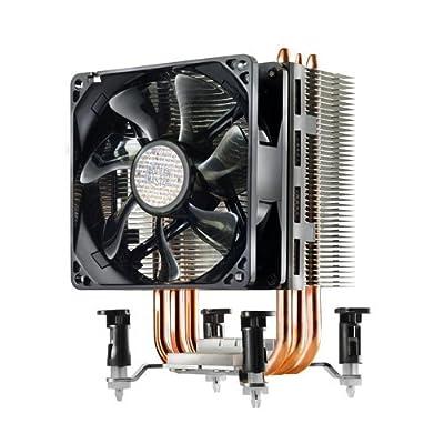 Disipador Cooler Master Hyper TX3 EVO Sistema de Enfriamiento CPU - Compacto y Eficiente, 3 Tubos de Calor de Contacto Directo, Ventilador PWM de 92mm