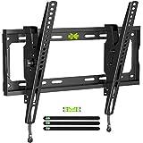 USX MOUNT Tilting TV Wall Mount, TV Mount for Most 26-55 Inch LED, LCD 4K TVs, TV Bracket with +12°/-12° of Tilt, Fits...