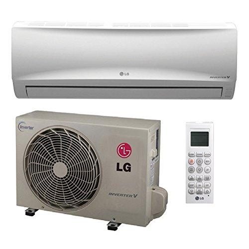 LG Single Zone Inverter Heat Pump System, Mega Series 115V (9K BTU), LS090HXV