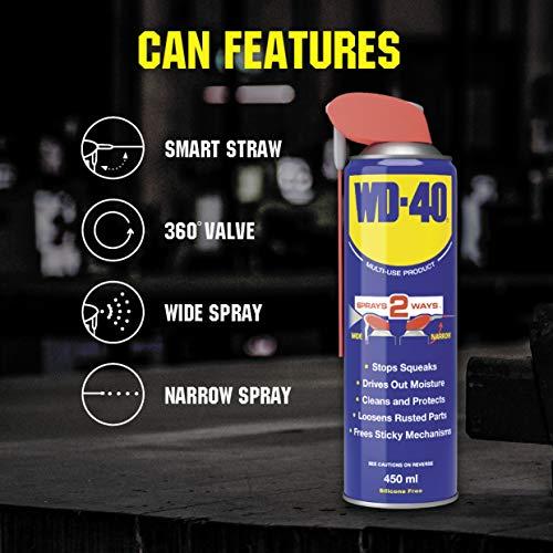WD-40 Multi-Use Product Smart Straw 450ml