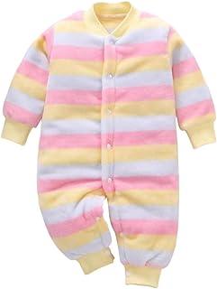 DEBAIJIA Baby Strampler 0-2T Säugling Overall Kleinkind Spielanzug Footed Neugeborene Jumpsuit Kinder Nachtwäsche Junge Mädchen Unisex